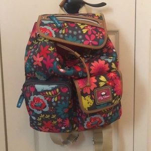 Brand New Lily Bloom Backpack